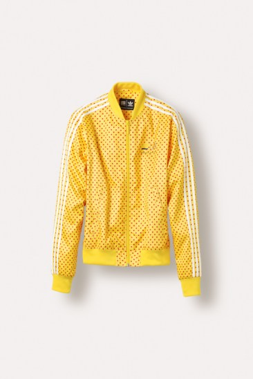 Polka dot jacket from adidas Originals x Pharrell Williams collection