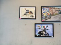 Got moto art for sale? you can display it at Garage 52