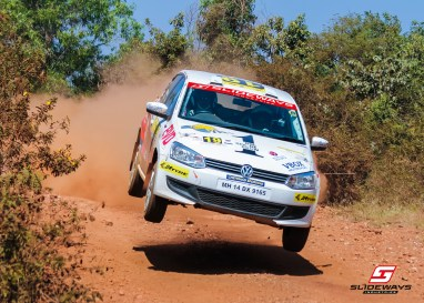 Sirish Chandran, runner up INRC 1600, K-1000 rally