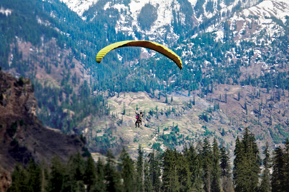 The Best Paragliding spots in India