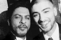 shah rukh khan, srk, zayn malik, asian awards, selfie, actor, singer