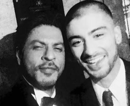 Shah Rukh-Zayn Malik selfie sets a record