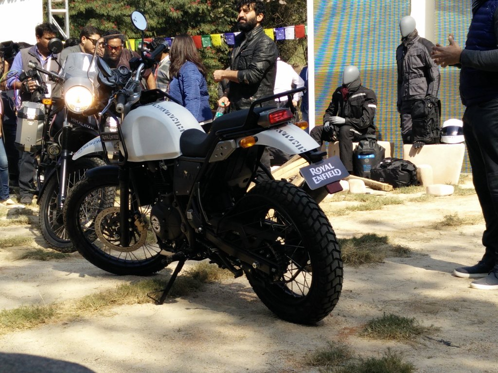 The freshly unveiled RE Himalayan