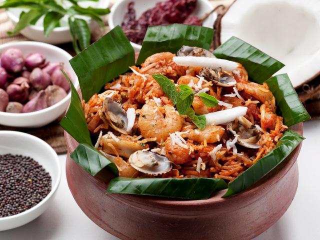 Seafood Tawa Pulao