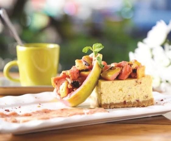Fresh Guava Cheesecake - The Pantry, Mumbai
