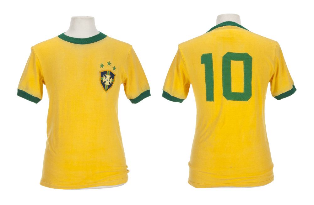 1970-1971 Brazil National Football team game jersey