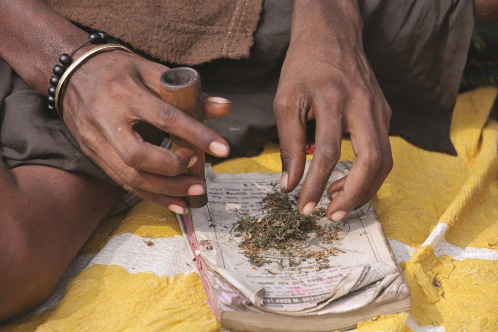 Marijuana use in India is widespread, and for the most part, there is no stigma attached to it
