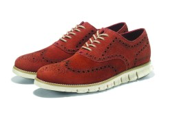 Cole Haan_ZeroGrand Wing Oxford_Burnt Copper Suede+Ivory