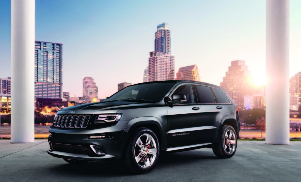 The Jeep Grand Cherokee Srt Is A Muscle Car Masquerading As An Suv