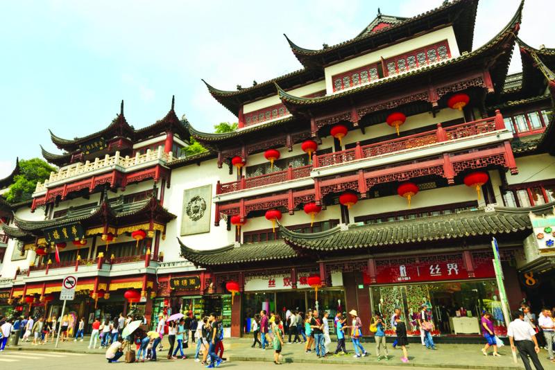 Old Town Shanghai or Yu Yan Garden
