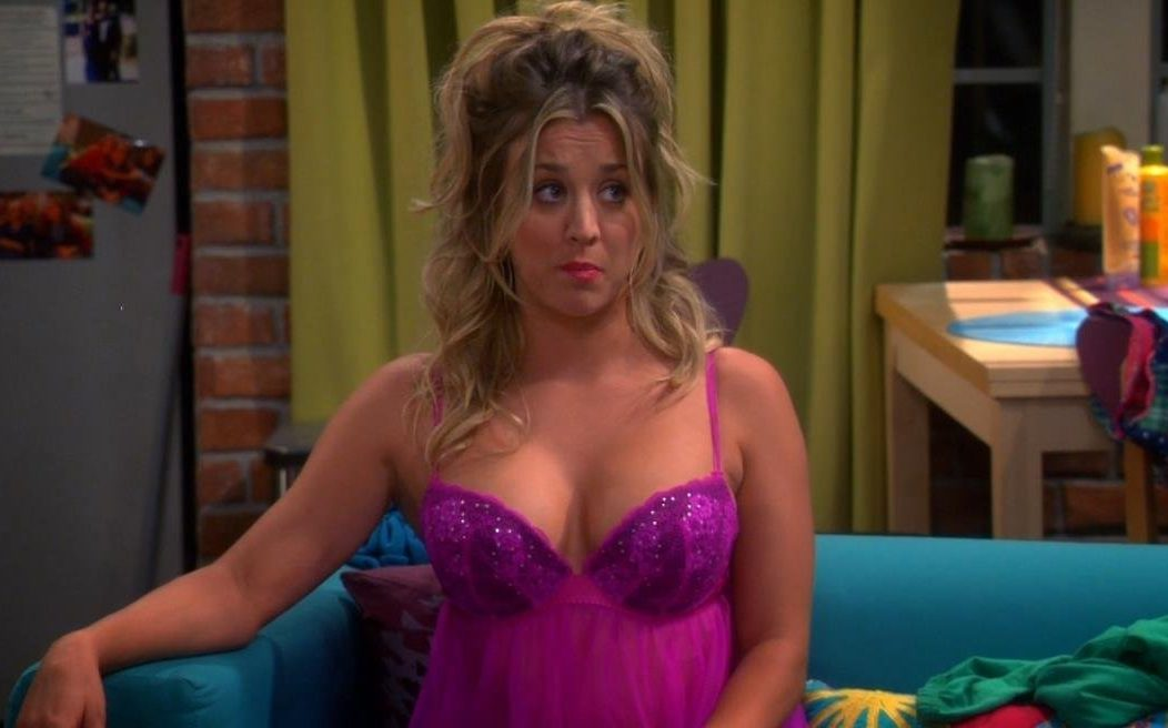 Did kaley cuoco get a boob job