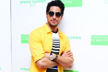 Sidharth Malhotra at Benetton India's SS'17 Collection Launch (1)