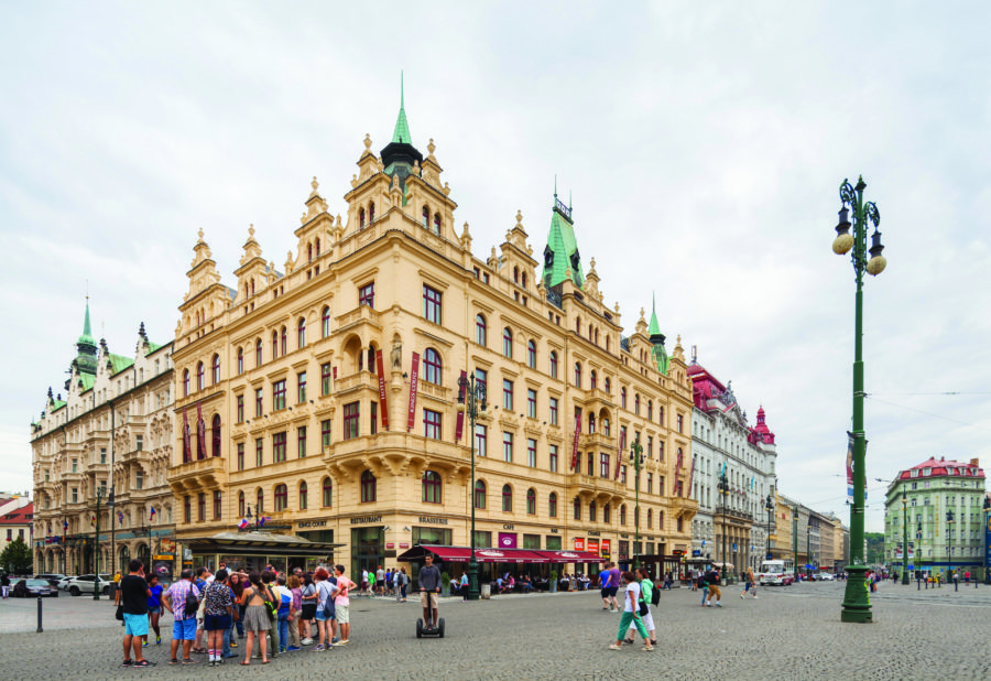 Hotel Kings Court in Prague