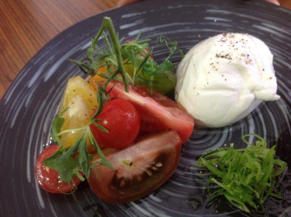 Burrata Zaatar Tomato