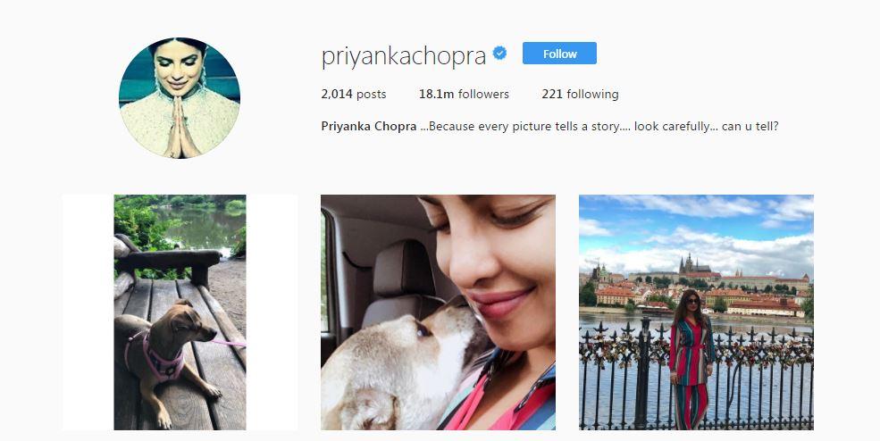 Who Do They Follow: Priyanka Chopra