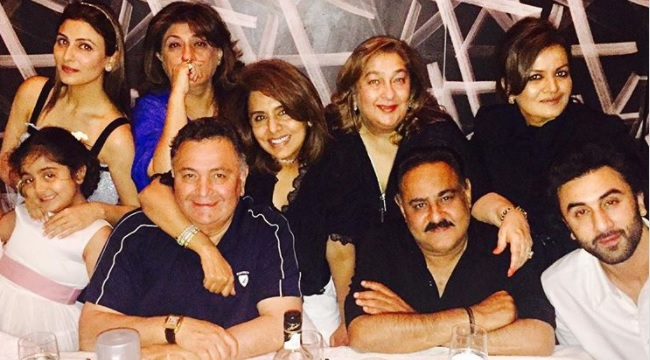 Ranbir Kapoor's Birthday Bash For Mother Neetu Singh, And Other Heartwarming Moments