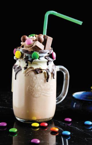 Nutella Milkshake at 145
