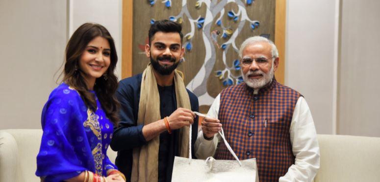Jab Virat Kohli-Anushka Sharma Met Narendra Modi, Hilarious Memes Happened