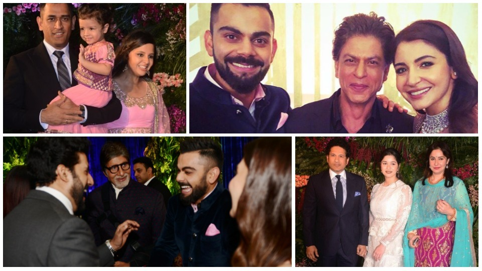 (IMAGES) SRK's Dance And More: Inside The Virat Kohli-Anushka Sharma Mumbai Wedding Reception