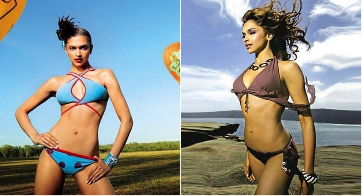 photos unseen images from deepika padukone s modelling days