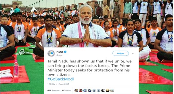 #GoBackModi Tops Trends Worldwide On Twitter As Chennai Erupts In Protest At PM Visit