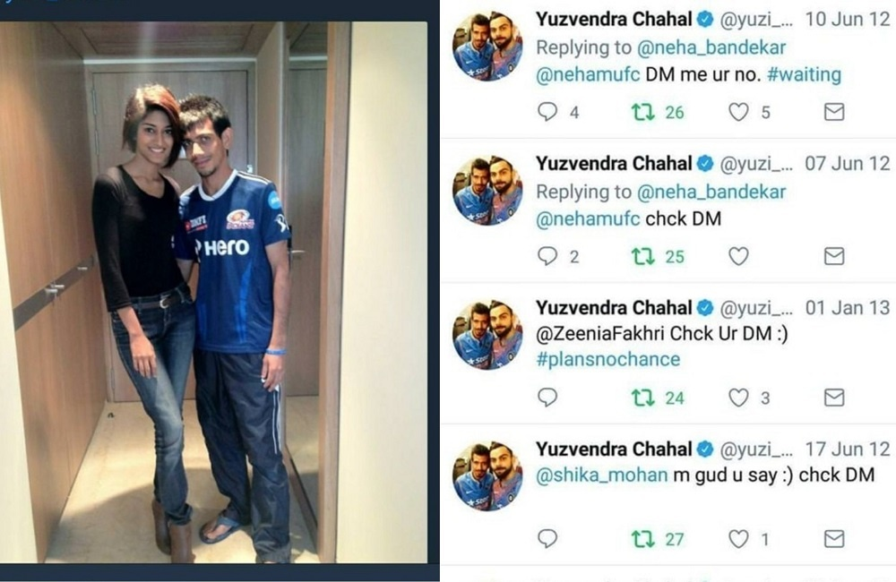 'DM' Boy Yuzvendra Chahal Shoots His Shot On Twitter