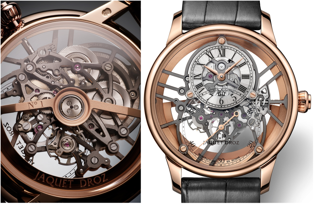 New Grande Seconde Skelet-One Leads Jaquet Droz's 280th Anniversary Celebrations
