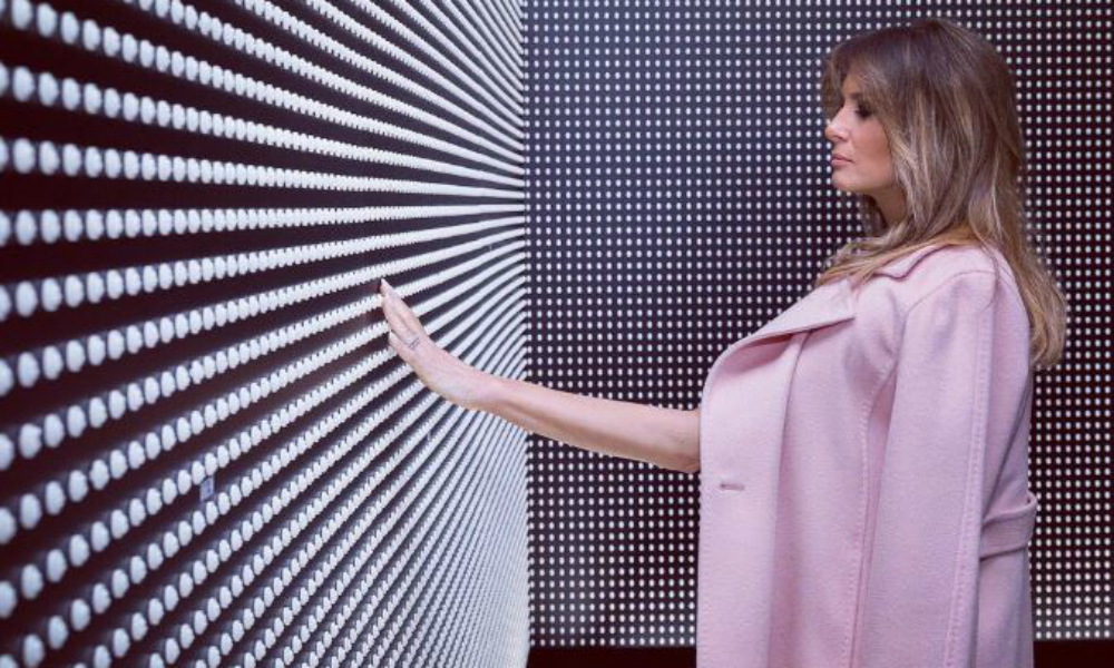 Melania Trump's 'Don't Care' Jacket Leaves Netizens Outraged