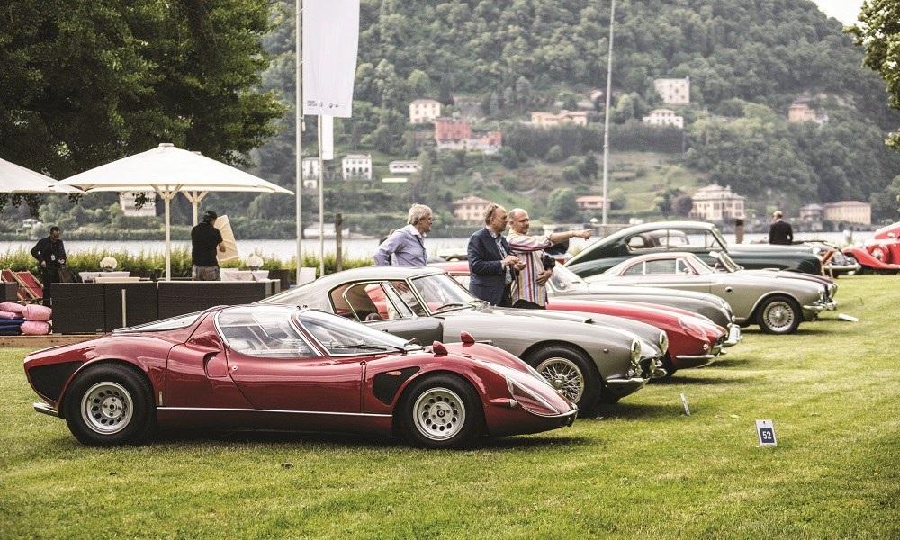 A Feast Of Classic Machines At The Concorso d'Eleganza Villa d'Este