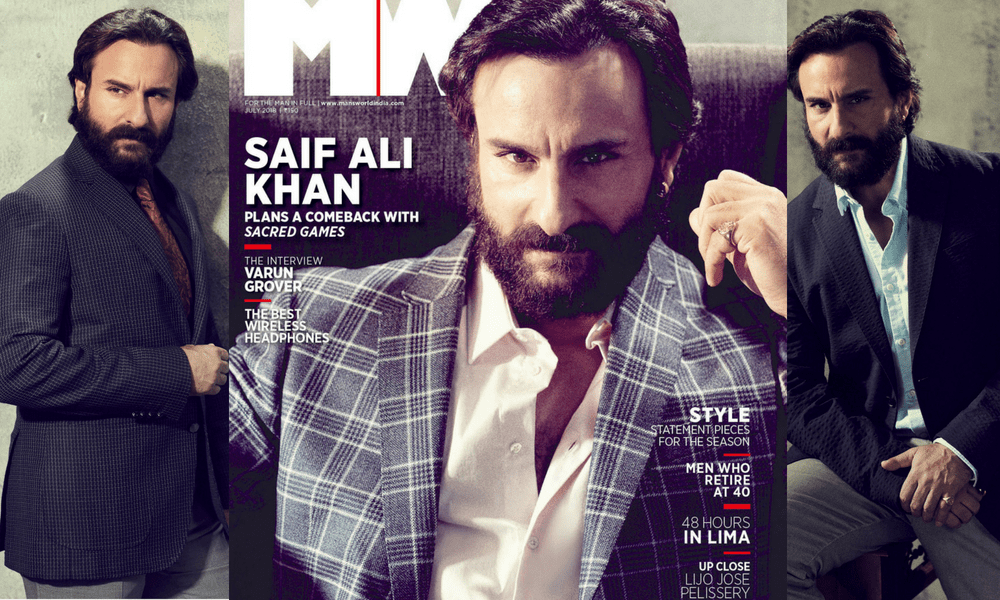 From Sartaj In Sacred Games To A Naga Bounty Hunter In His Next, Saif Ali Khan Talks About Experimenting