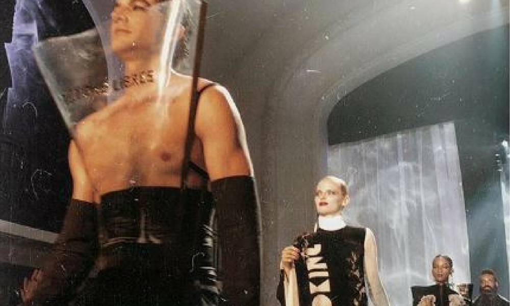 Jean Paul Gaultier Plays Around With Skin, Smoke And Scandal For PFW