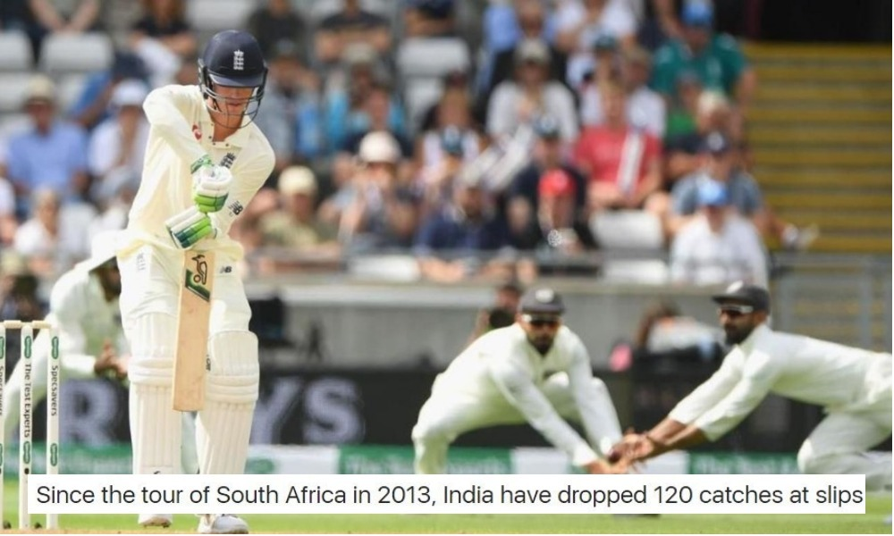 Will Dropped Catches Ruin India's Chances In England?