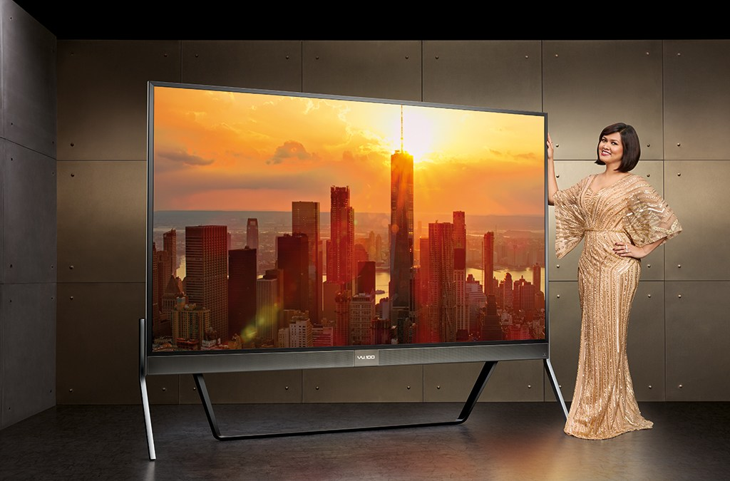 Vu Launches The 'World's First 100 Inch 4K LED' TV