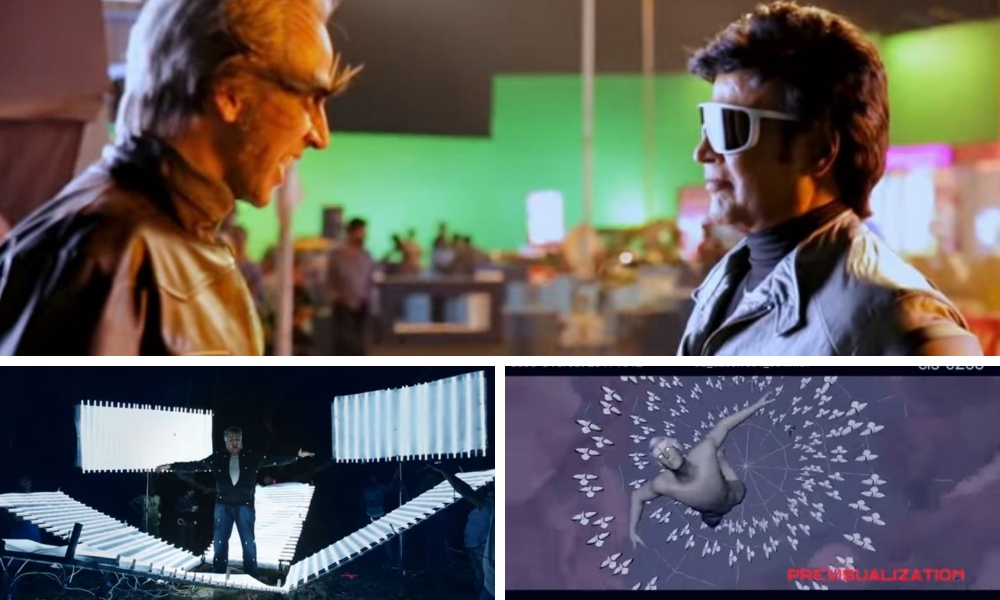 Go Behind The Scenes And Watch How 2.0's VFX Was Done
