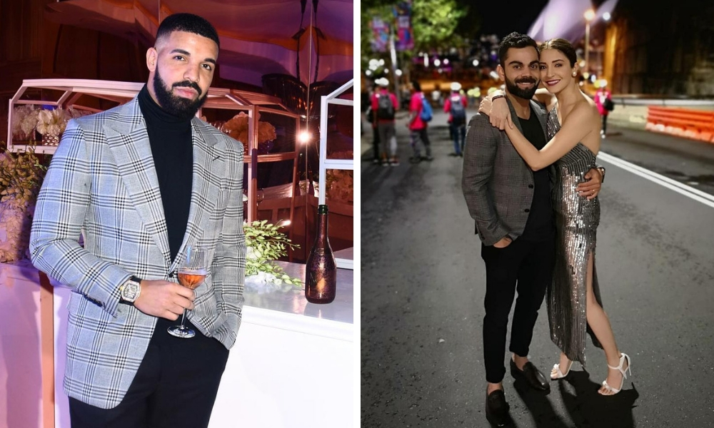 Here's How Drake, Virat Kohli And Others Brought In The New Year
