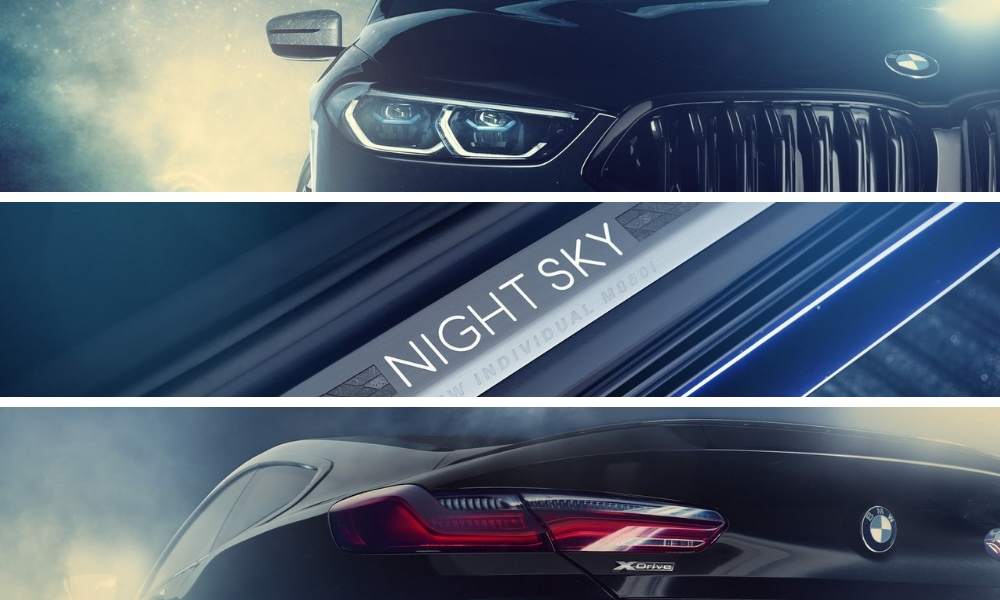 The BMW M850i 'Night Sky' Coupe Comes With Actual Meteorites Embedded In It
