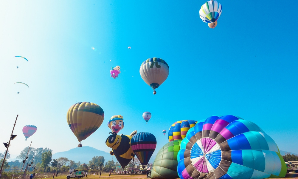 Being There: The Araku Balloon Festival