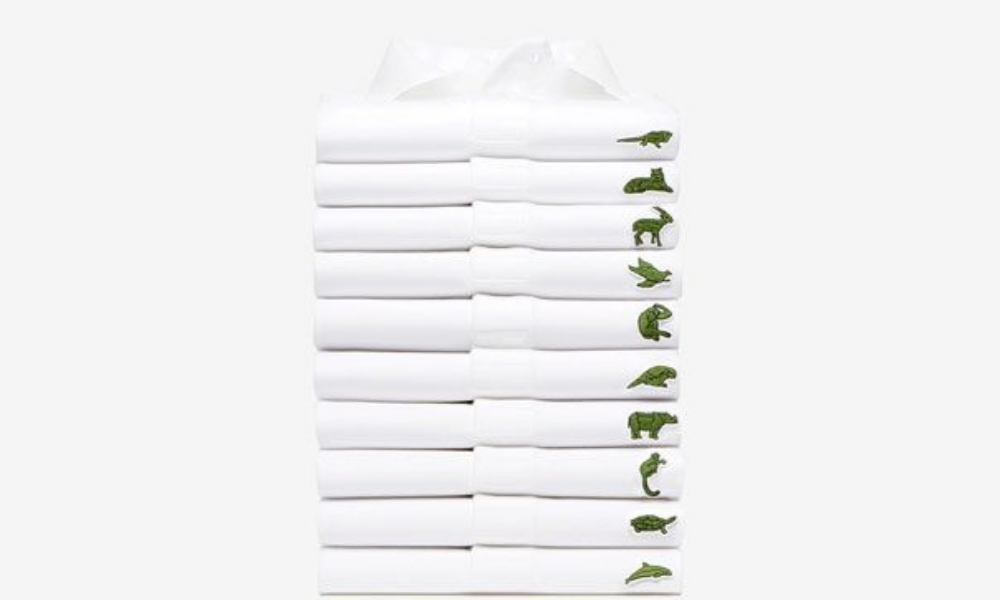 Lacoste Replaces Its Crocodile Logo With 10 Endangered Species