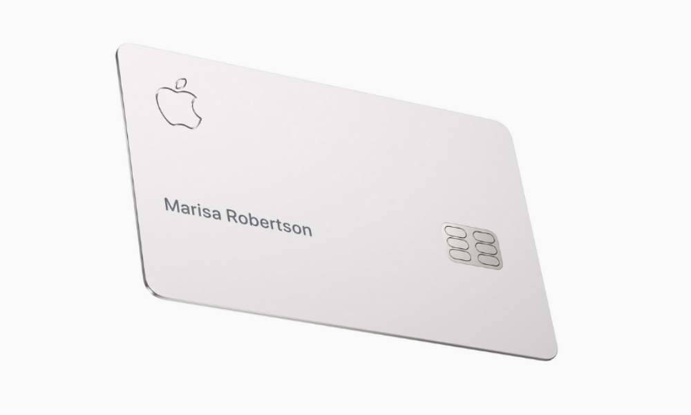 Apple Launches Its One Of A Kind Credit Card Made Using Titanium