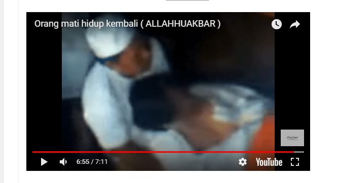 [Video] Makamnya Dibongkar, Mayat Ini Hidup Kembali