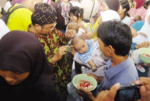 Gambar Tradisi-Ekah yang terkait dengan upacara adat Jawa Barat