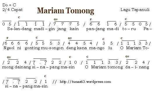 20 Lagu Daerah Sumatera Utara Lirik Dan Not Serta Penciptanya Mantabz