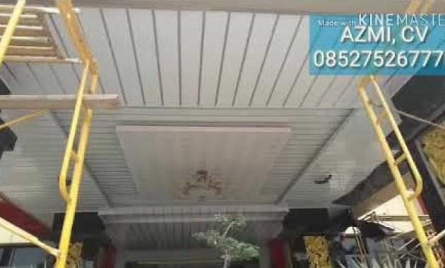 Penawaran terkait jasan pasang plafon Medan yang profesional