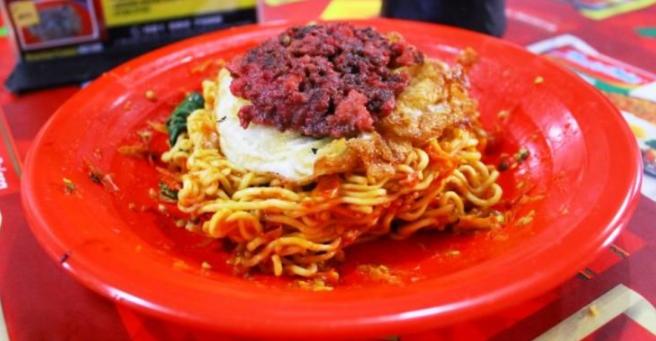 Gambar terkait dengan tempat makan pedas di kota Medan yang sedang tren.