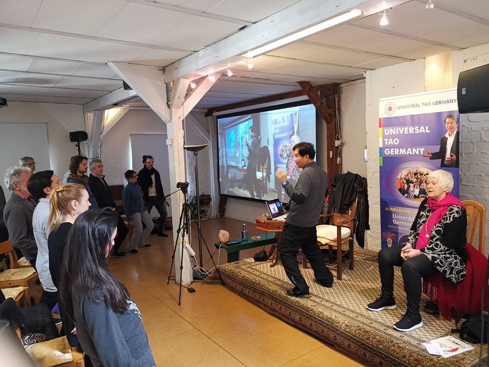 Mantak Chia European Fall 2019 in Berlin, Germany