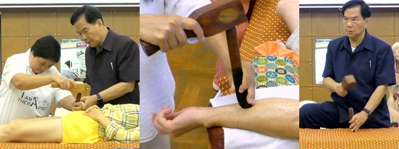 Mantak Chia teaching students at Summer Week 7: CNT III Healing Harmony Tok Sen (Certification)