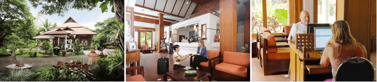 tao garden accommodation health resort thailand