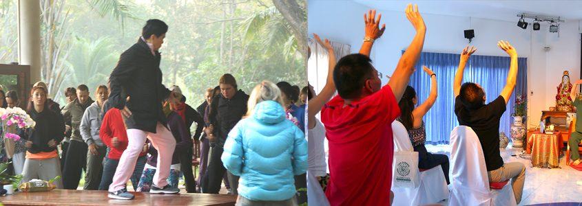 Master Mantak Chia Taoist Workshop Chinese group