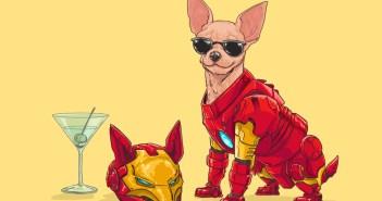 Marvel superhero dogs