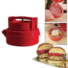 Hamburger press and food stuffer